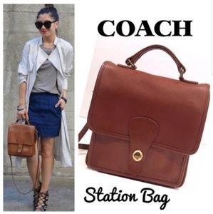 Coach Vintage  Station Bag